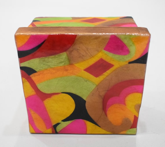 Box Shell Capiz Glass Painted Lacquered Decorative Box Philippines