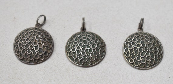 Beads Sterling Silver Charm Pendants 20mm