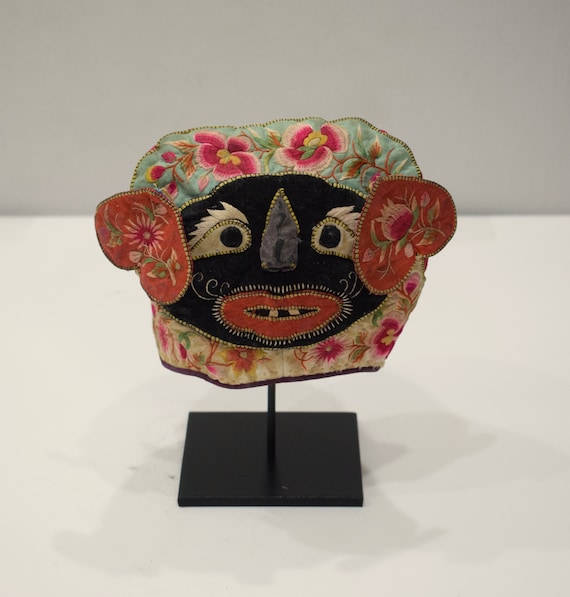 Chinese Baby Hat Embroidered Old Traditional Chine