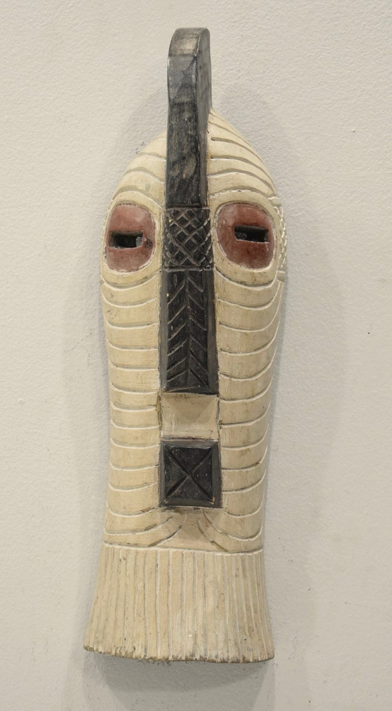 African Mask Songye Male Wood DRC Mask