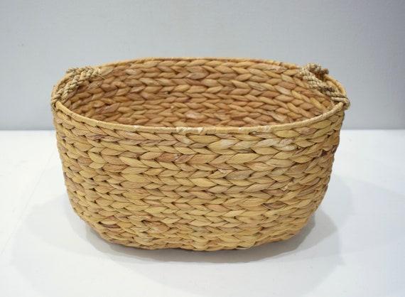 Basket Indonesian Round Banana Leaf Basket