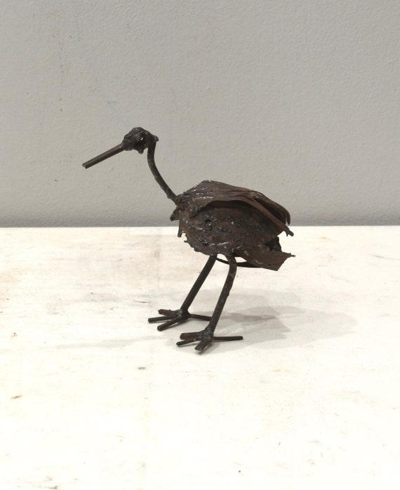 Crane Sculpture Metal Zimbabwe