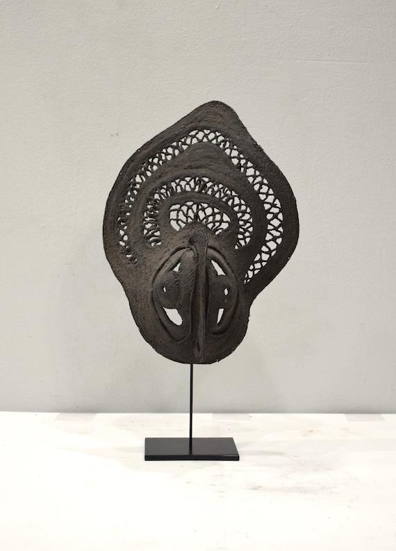 Papua New Guinea Mask Yam Abelam Woven Harvest Yam Ceremony Mens Mask