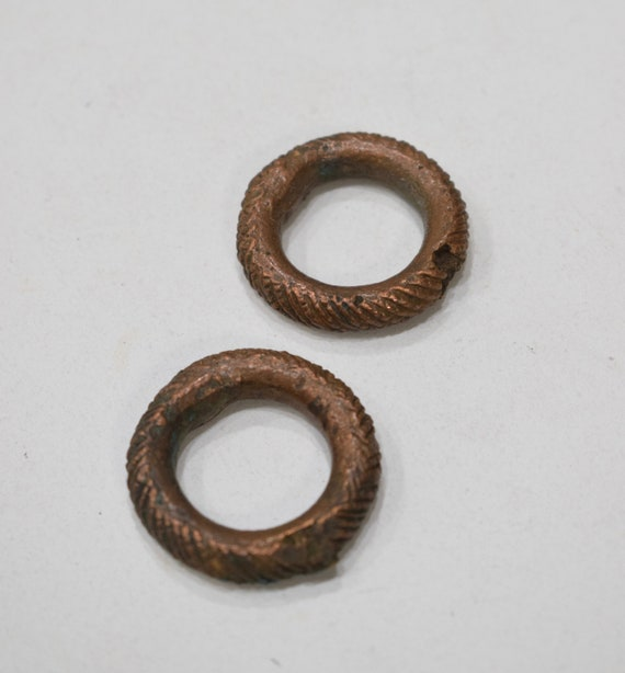 Beads African Brass Rings 32mm