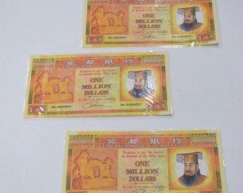 Chinese Good Luck Money Paper