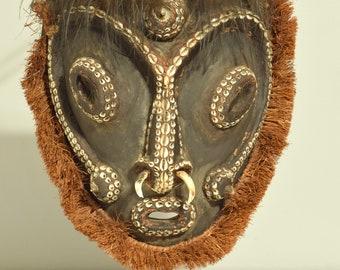 Papua New Guinea Mask Biwat Yuat River Sacred Flute Biwat Mask