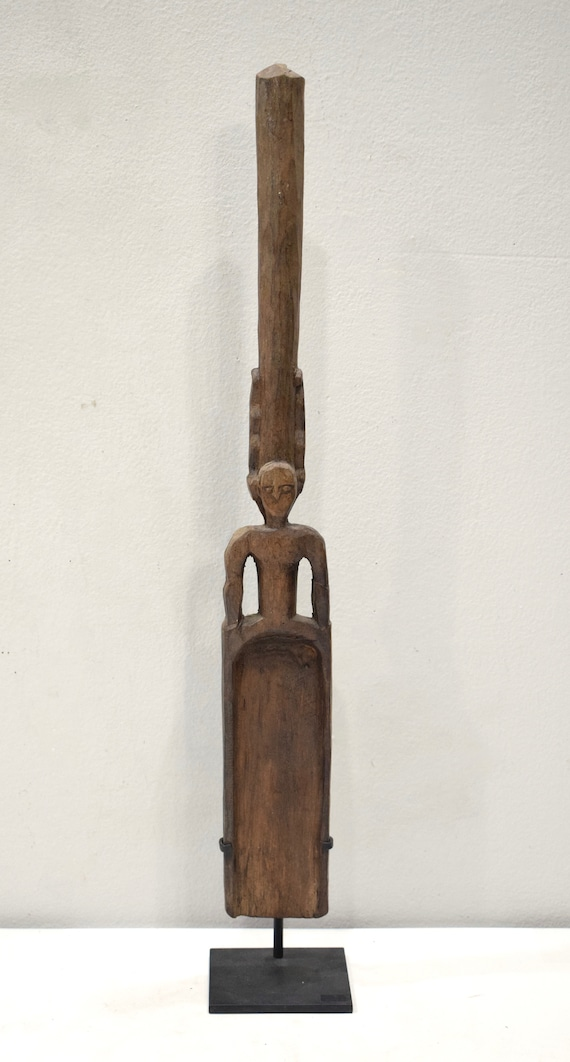Papua New Guinea Ladle Spoon Wood Siassi Ceremonial Food Serving Spoon