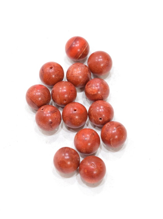 Beads Apple Coral Beads 13mm
