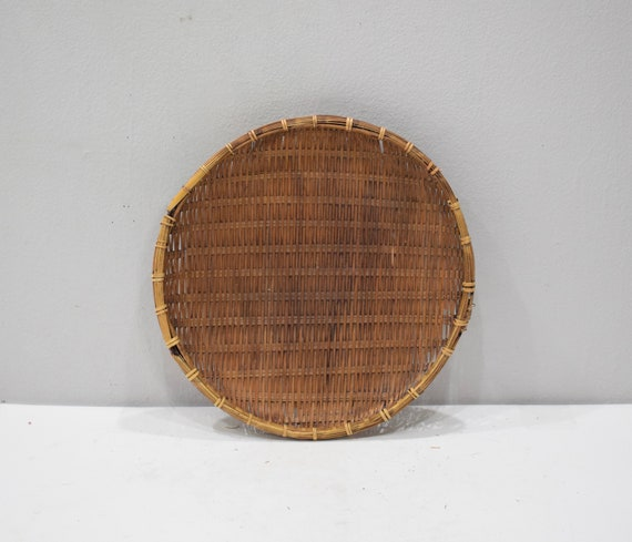 Baskets Thailand Beige and Brown Rice Trays