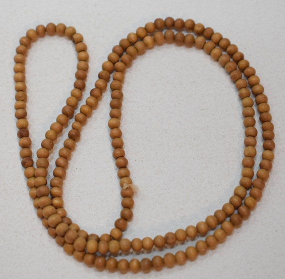 Beads Sandalwood Small Round Beads 4mm