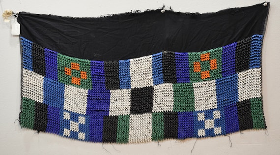 African Zulu Old Beaded Shawl South African Beaded Shawl RSA