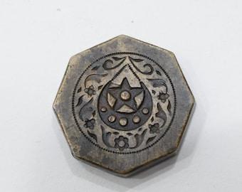 Kuchi Jewelry Stamp Die Mold Vintage Bronze