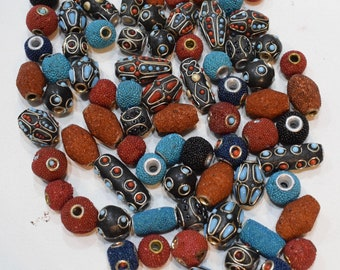 Beads India Silver Mixed Bag Coral Beads 12-28mm