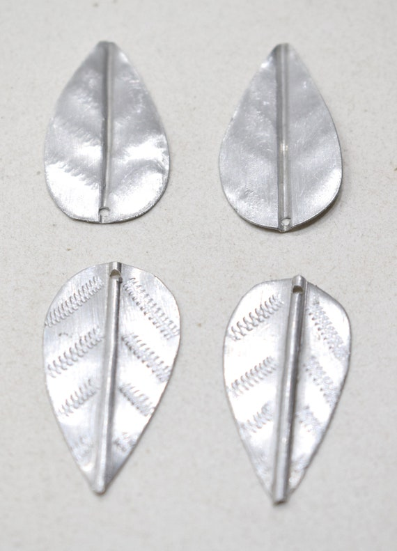 Beads Old Masai/Turkana Aluminum Spear Pendants 38mm