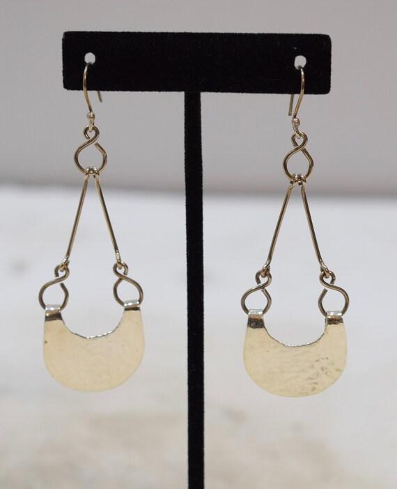 Earrings Sterling Silver Dangle Earrings 73mm