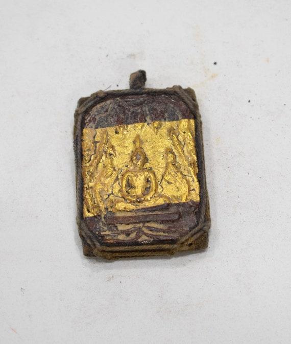 Buddha Ceramic Gold Leaf Tiles and Pendants