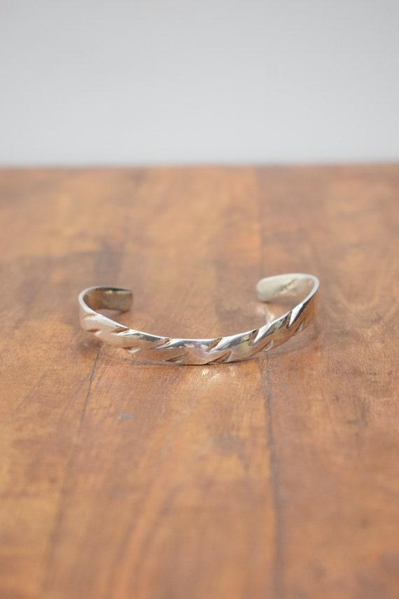 Bracelet Alpaca Silver Cuff Bracelet
