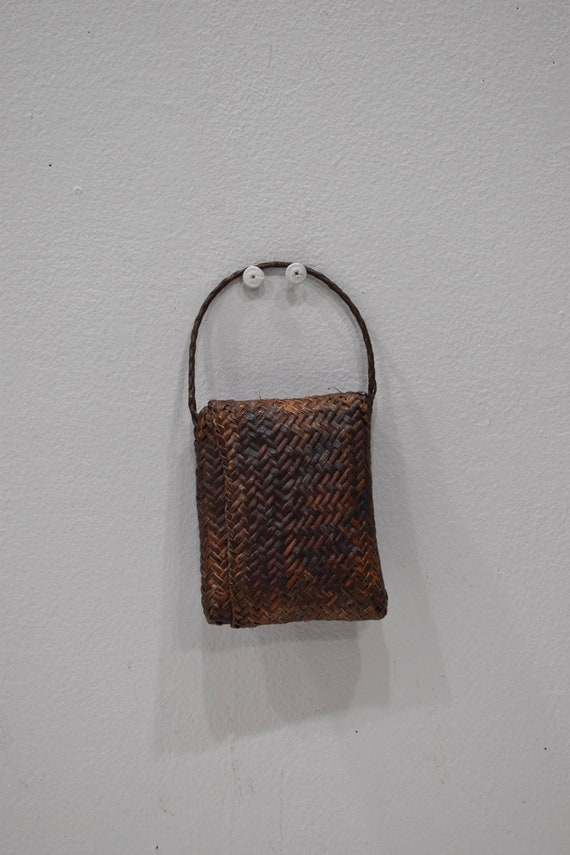 Philippines Ifuago Wallet Money Rattan Woven Rattan Pouch