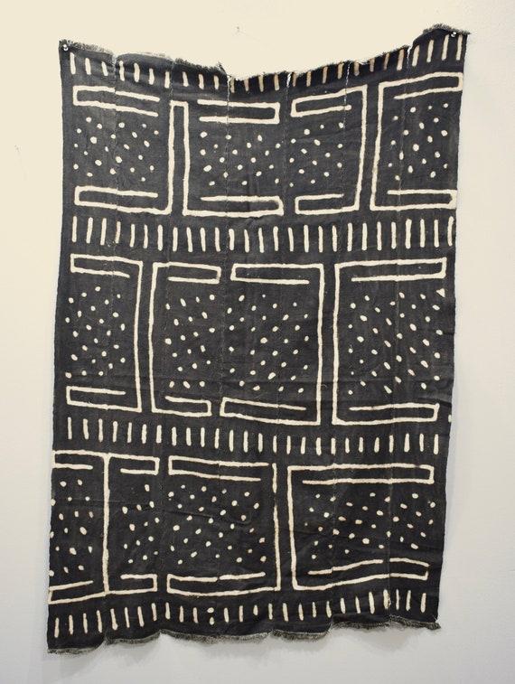 African Mudcloth Pattern Design Dogon Fabric Mudcloth
