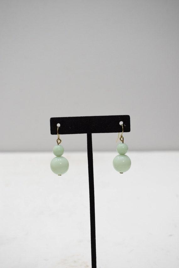 Earrings Mint Green Acrylic Dangle Earrings