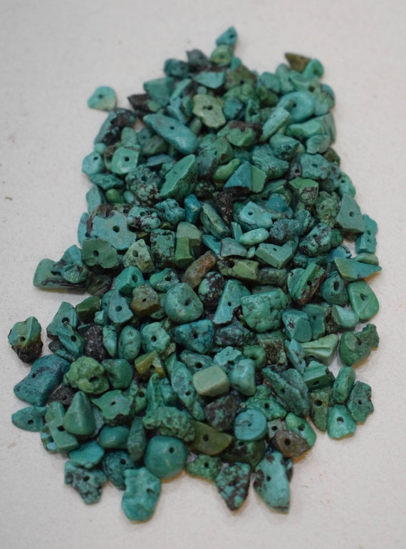 Beads Chinese Turquoise Chip Stone Beads 5mm - 12mm