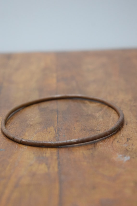 Bracelet African Copper Coil Bangle Bracelet