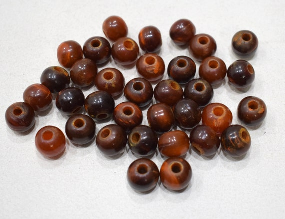 Beads Philippine Brown Horn Beads 13mm