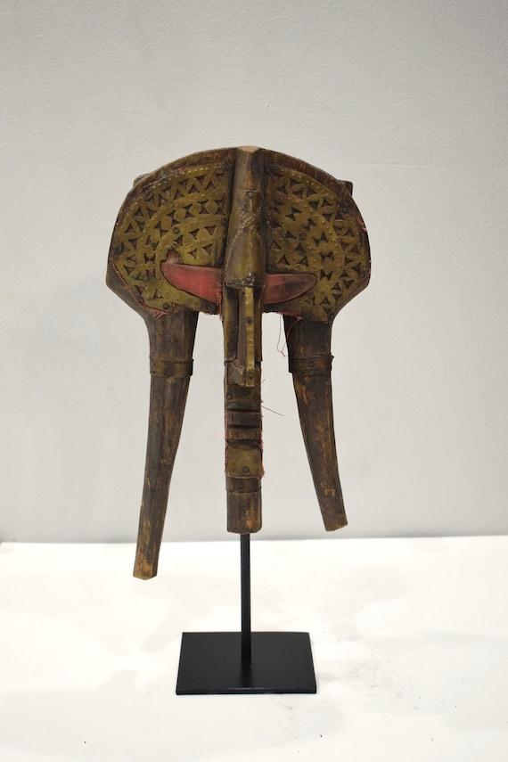 African Mask Bakota Reliquary Gabon Africa