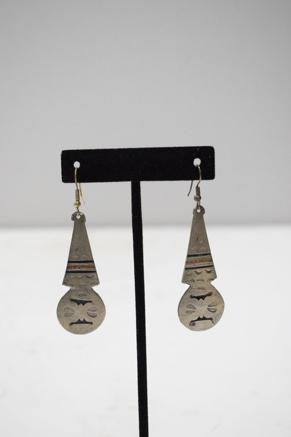 Earrings Silver Southwest Style Earrings