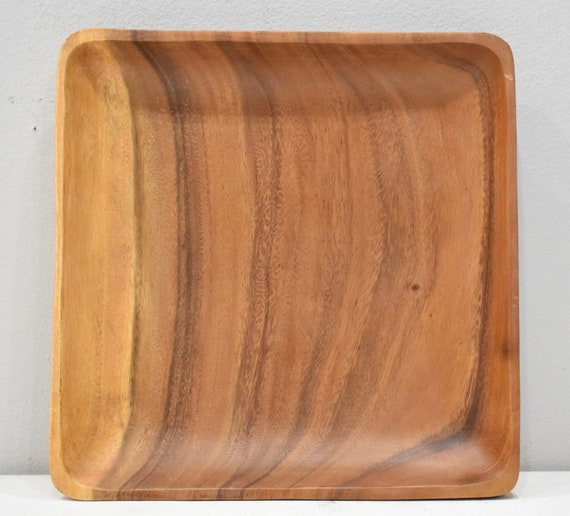 Wood Plate Philippines Handcarved Plate Wood Polished Philippines Wood Plate