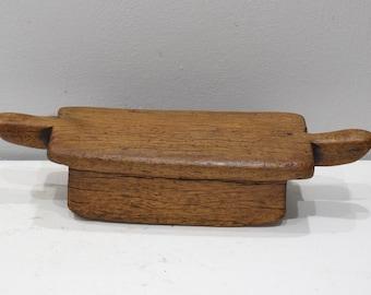 African Stool Lobi Wood Vintage Stool Burkina Faso