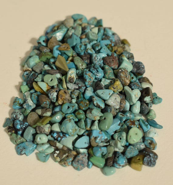Beads Turquoise Chip Nugget Chinese Beads Assorted Shapes 5mm