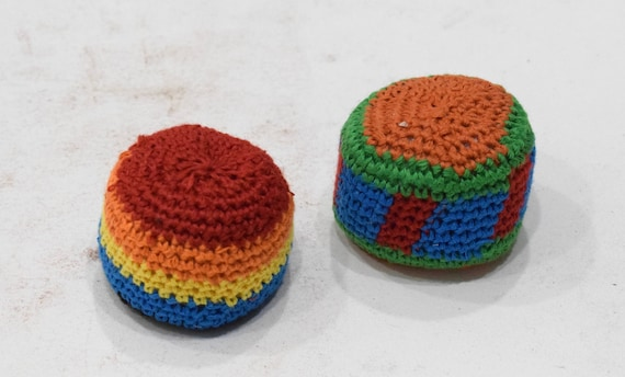 Hacky Sac Kick Ball 100% Cottom Guatemala Made 2 Per Order