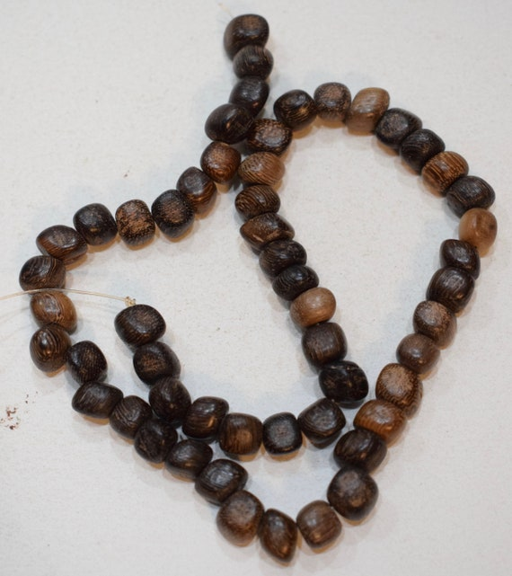 Beads Philippine Palmwood Irregular Shaped Vintage Beads 8mm