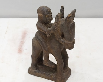 African Statue Bambara Tribe Male Statue Mali