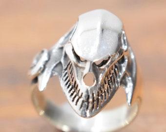 Ring Sterling Silver Skull Ring