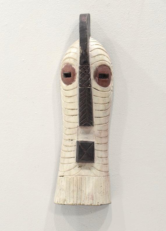 African Mask Songye Male Wood DRC Mask