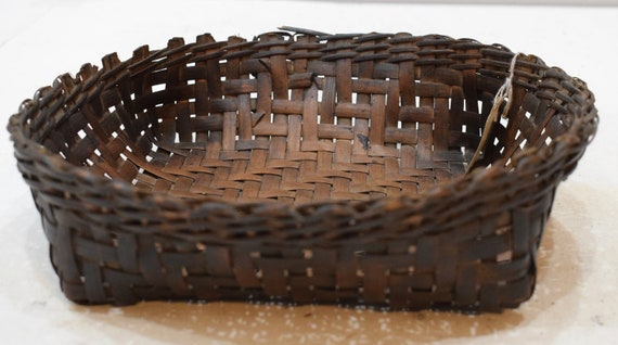 Basket Philippines Ifugao Woven Plate Bowl Rattan Ifugao Rattan Plate Woven Basket