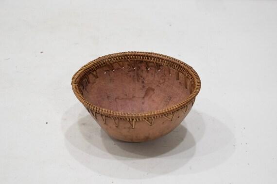 Bowl Indonesian Coconut Round Rattan Bowl