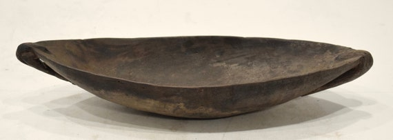 Papua New Guinea Bowl  Ramu River Wood Feasting Ceremonial Bowl
