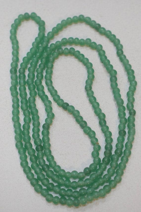 Beads Chinese Green Adventurine Small Round Beads 4mm