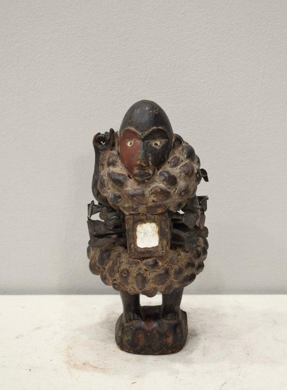 African Nail Fetish Songye Tribe Congo