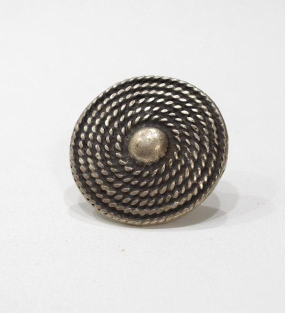 Ring Turkish Pewter Adjustable Ring 38mm