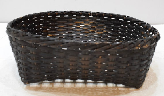 Basket Philippines Ifugao Woven Plate Bowl Rattan Basket