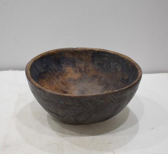 African Tuareg Wood Bowl