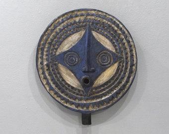 African Goli Mask Akan Tribe Ivory Coast