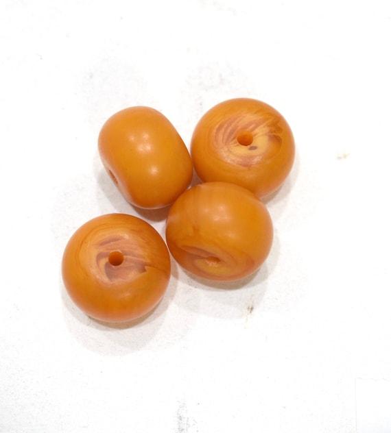 Beads Butterscotch Copal Amber Beads 20mm