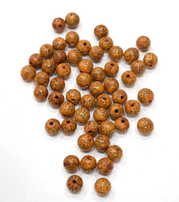 Beads Philippine Brown Betel Nut Beads 12mm