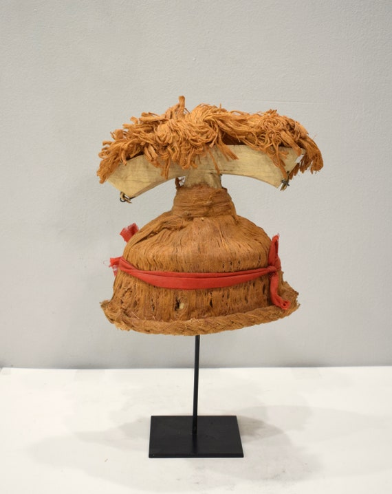 Papua New Guinea New Ireland Ceremonial Dance Hat