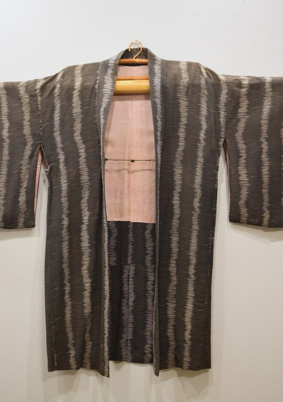 Kimono Japanese Pink Brown Kimono